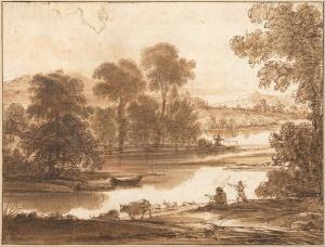 Claude_Lorrain_-_Floodplain_with_Watering_Place,_c.1640_-_Google_Art_Project
